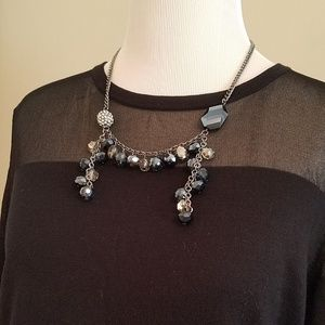 Simply Vera beaded statement necklace plus 2 other
